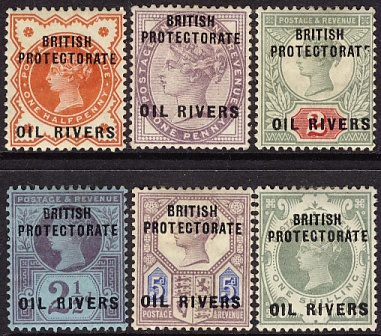 Oil Rivers 1 to 6