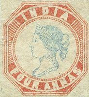 India (East India Company) Scott #6